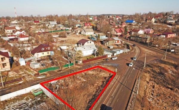 Коммерческий участок 6 соток на трассе Р108 в центре Волоколамска
